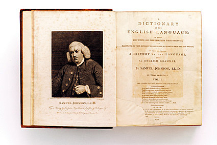 Dictionary of the English language