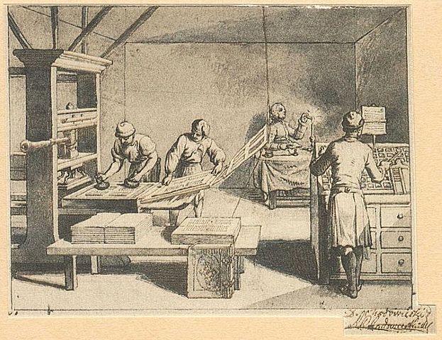Imprenta (Johann Gutenberg)