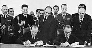 Firma del tratado Roca -Runciman