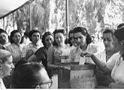 Voto Femenino en Argentina