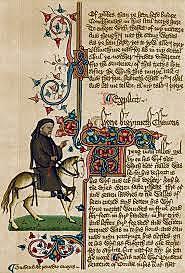 Chaucer begins