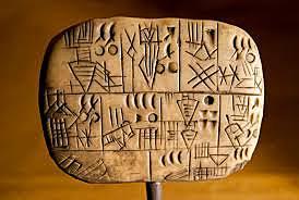 Tablillas de arcilla en Mesopotamia
