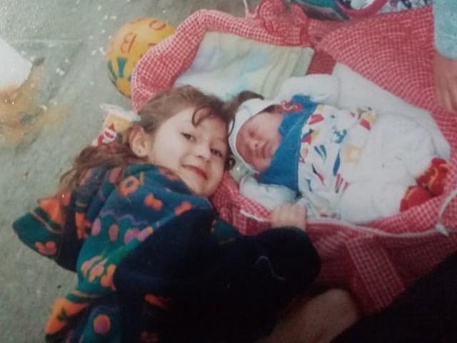 Nacimiento de mi hermana Alejandra.