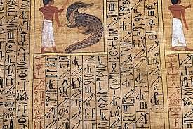 Papiro en Egipto