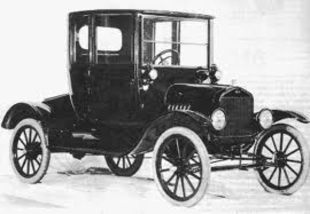 henry ford introduces the model t