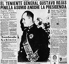 Golpe de estado del General Rojas Pinilla (EXTRALABORAL)