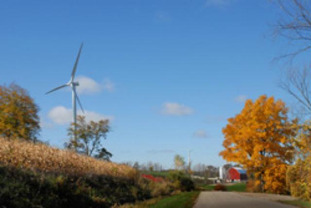 First Wind Farm in Wisconsin