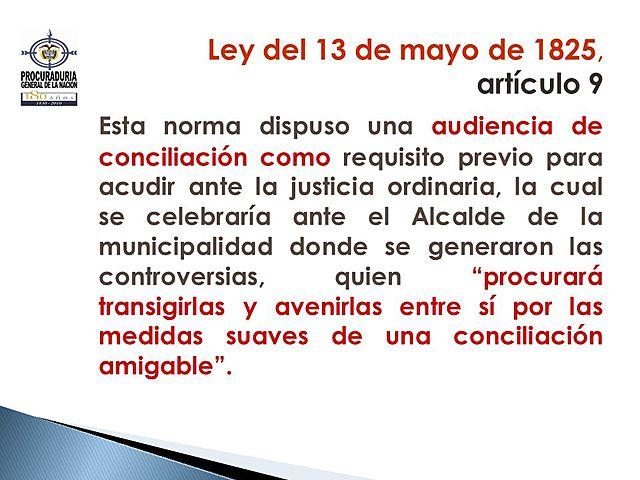 Ley 13 de 1825