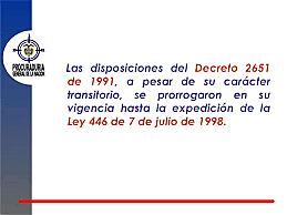 Decreto 2651 de 1991