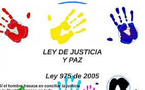 Ley 975 del 2005  Ley de Justicia y Paz