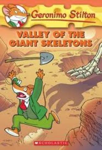 geronimo stliton valley of the giant skeleton