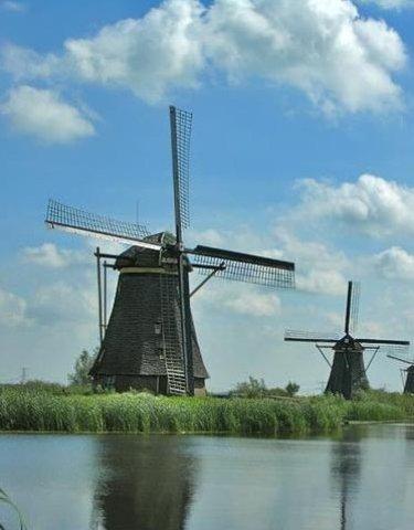 Dutch Build Windmills