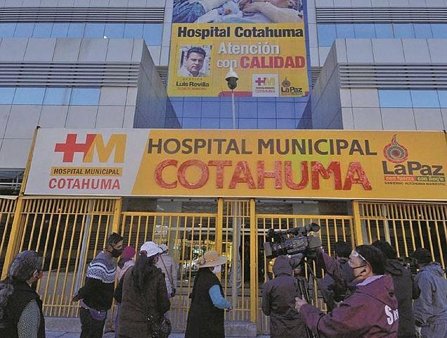 El presupuesto 2021 para hospitales ediles de La Paz se reduce en un 36%