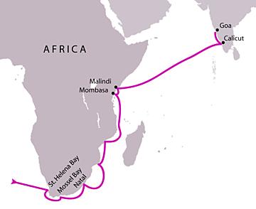 Portugisernes sjøvei til India - KAPITTEL5