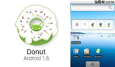 Android 1.6 Donut - Nivel de API 4