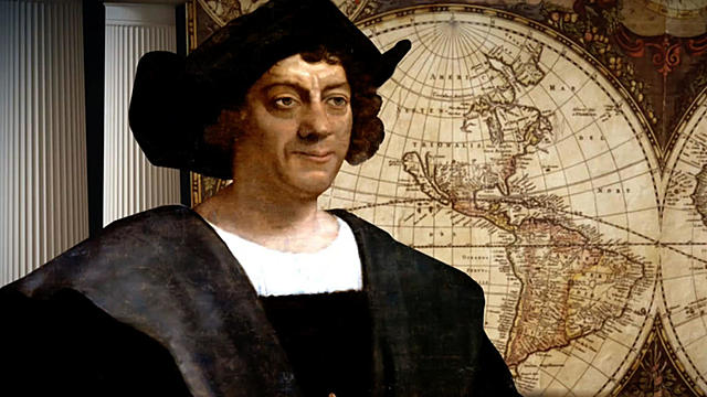 Columbus, sailing for Spain, makes first voyage of discovery.