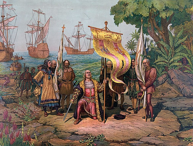 John Cabot explores Newfoundland.