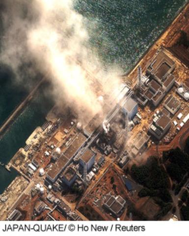 Explosion à Fukushima