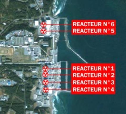 Le réacteur 3 touché