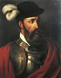 Francisco Pizarro subdues the Incas of Peru.
