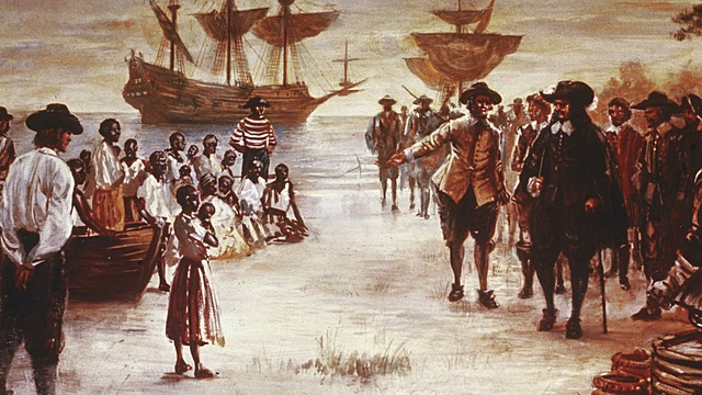 First Africans arrive in English America.