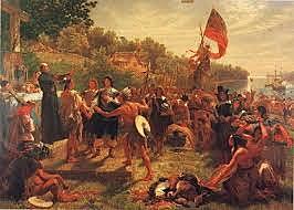 Settlement of Maryland begins.