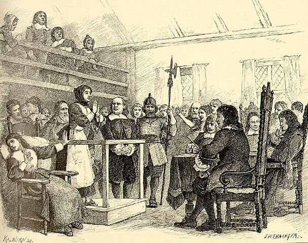 Salem witchcraft trials.