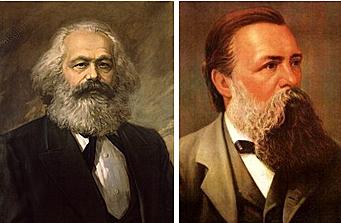 Carlos Max junto con Federico Engels