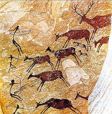 Arte rupestre levantino (8.000 a.c)