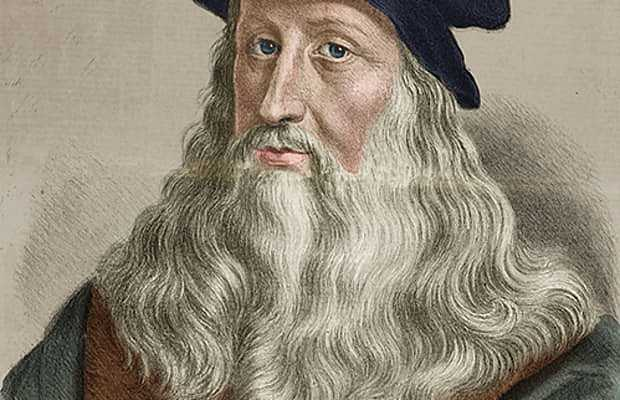 Leonardo da Vinci og Nicolas Copernicus