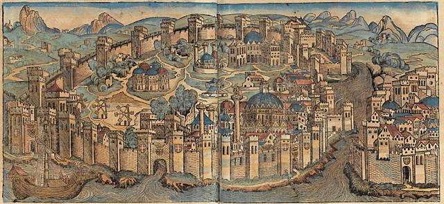 Byvekst i middelalderen