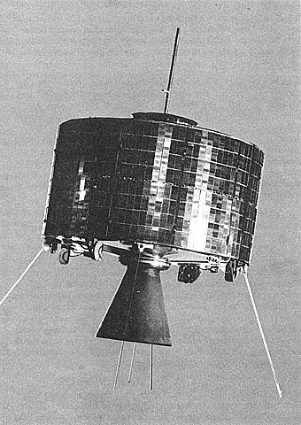 Primer satélite artificial que alcanza una órbita geoestacionaria