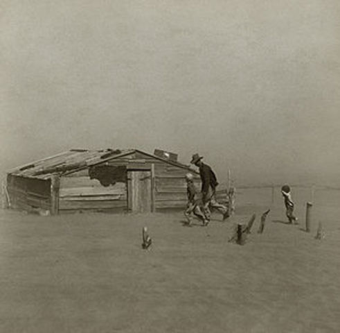 Dust Bowl begins, causing major ecological and agricultural damage to the Great Plains states; severe drought, heat waves and other factors were contributors