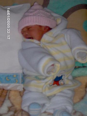 nacio mi segunda hermana