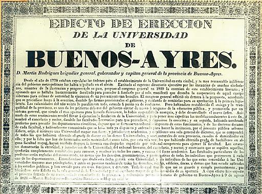 Fundación de Universidad de Buenos Aires