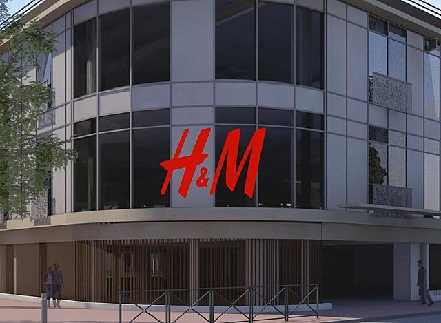 C'est officiel : H&M sera la locomotive de ce projet commercial