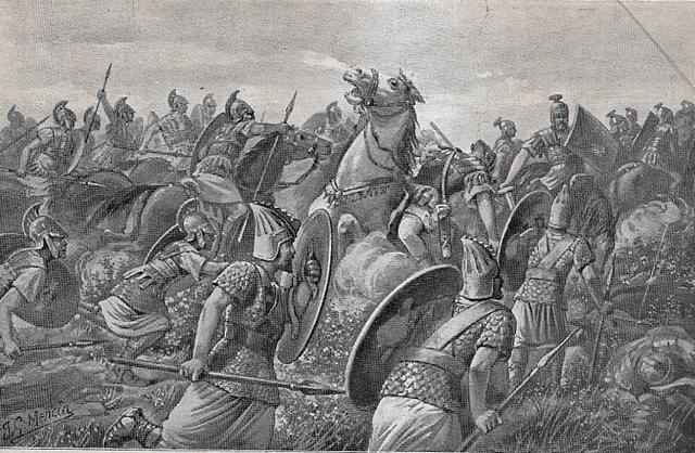 Derrota y muerte de Publio Cneo Escipión