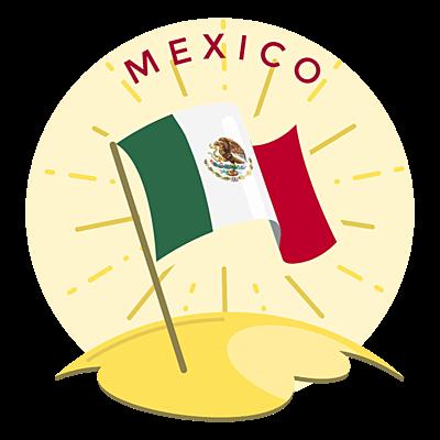 """""""Principales Tratados y Acuerdos comerciales de México en el mundo"""" timeline"""