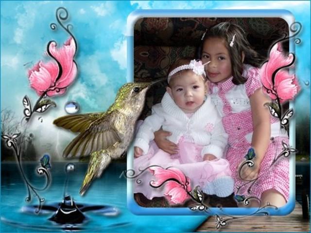 bautizo de mis hermanas