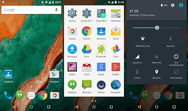 Android 5 Lollipop – Nivel de API 21