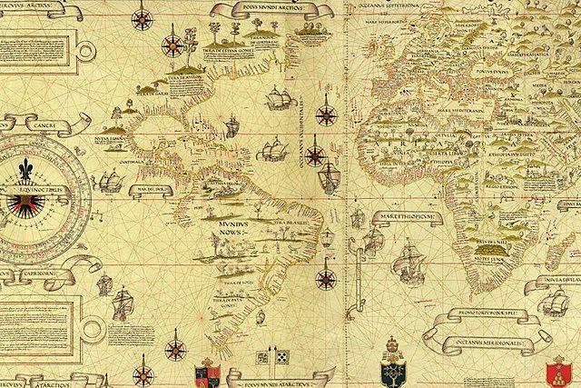Mapa de Diego Ribero