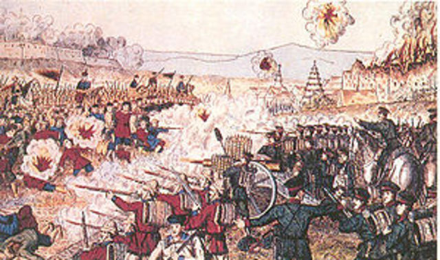 U.S. helps put down Boxer Rebellion