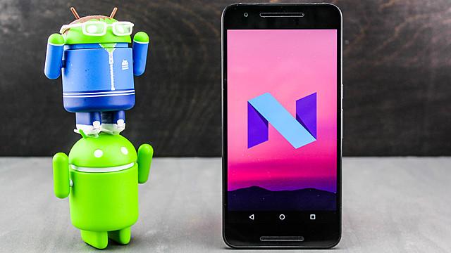 Android 7 Nougat – Nivel de API 24