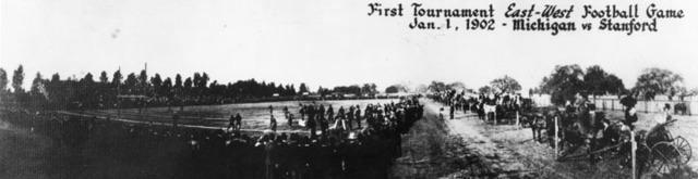 First Rose Bowl game played