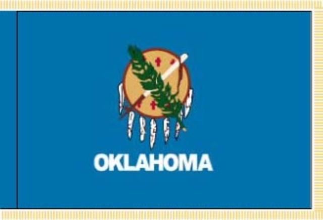 Oklahoma becomes a state