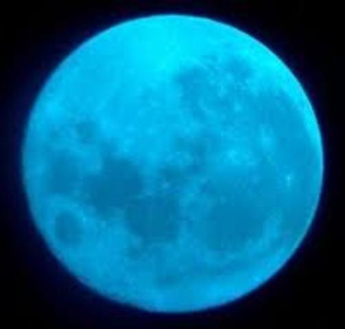Cootammundra had a Blue Moon