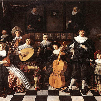 Music in the Baroque period timeline