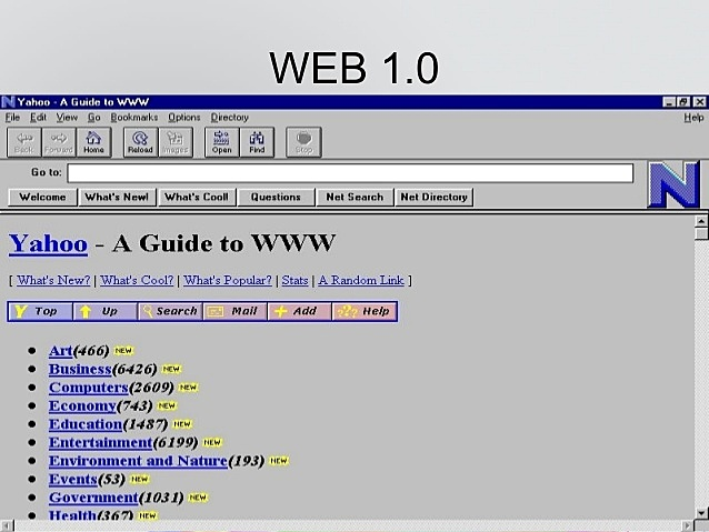 Se define la primera versión HTML