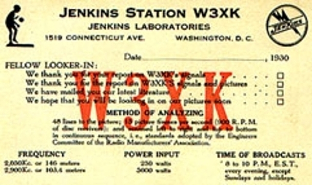Nace la primera estación experimental de televisión