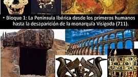 Prehistoria-Visigodos timeline